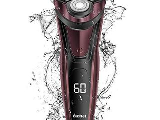 ElEHOT Electric Razor for Men Beard Trimmer with Digital Display 3D Rotary Rechargeable Cordless RS335