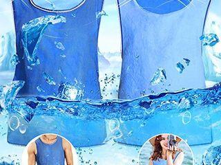 Evaporative Cooling Vest for Men Reversible Ice Cooling Vest for Working
