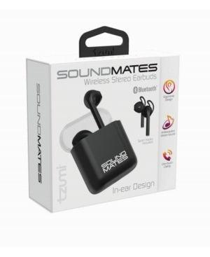 Tzumi 5762 Soundmates Wireless Stereo Earbuds  Black