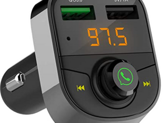 WIRElESS CAR FM TRANSMITTER  QC3 0 QUICK CHARGE