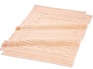 SUPERIOR INNOVATIVE DECOR  DESIGNED FOR lIFE   Egyptian cotton bath mat set to 22 inch 35 inch bath mat