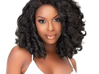 Janet Collection Natural Me Deep Part lace Wig Amani  OET1B 30
