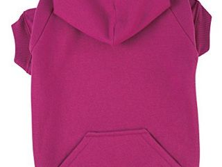 Zack   Zoey Basic Hoodie for Dogs  24  X large  Raspberry Sorbet