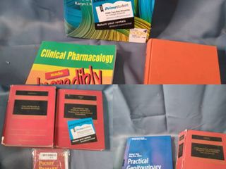 lot Of Medical Text Books