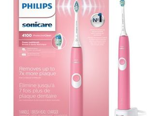 Philips Sonicare   ProtectiveClean 4100 Rechargeable Toothbrush   Deep Pink