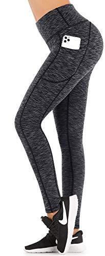 IUGA Fleece lined Yoga Pants with Pockets for Women  High Waisted Thermal leggings with Pockets