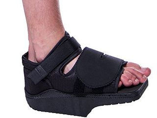 Orthowedge Forefoot Off loading Healing Shoe   Non Weight Bearing Medical Boot for Diabetic Foot Ulcer Protection  Metatarsalgia Pain and Post Bunion  Mallet or Hammer Toe Surgery  Small