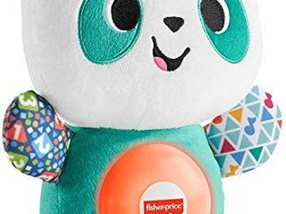 Fisher Price linkimals Play Together Panda  musical learning plush toy for babies and toddlers