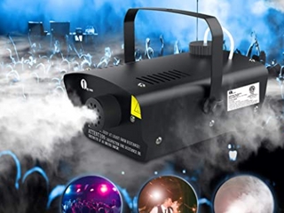 1 by One 400w fog machine okay aluminum heater efficiency Fire Control budget included low power consumption and compact design complaint with CE  ETl   RoSH standard  SKU O00Ql 0041