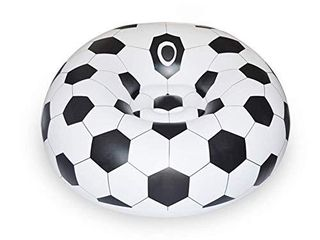 YueYueZou Soccer Ball Chair  Inflatable Sofa for Adults  Kids