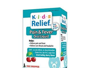 Kids Relief Pain   Fever Oral liquid for Kids 0 12 Years
