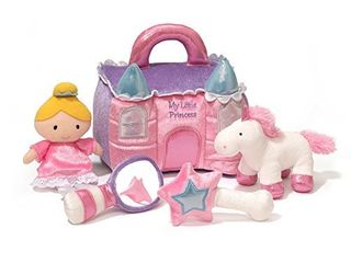 Baby GUND My First Princess Castle Playset Toy  8  5 pieces