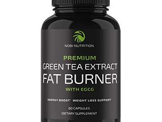 Nobi Nutrition Green Tea Fat Burner   Green Tea Extract Supplement with EGCG   Diet Pills  Appetite Suppressant  Metabolism   Thermogenesis Booster   Healthy Weight loss for Women   Men