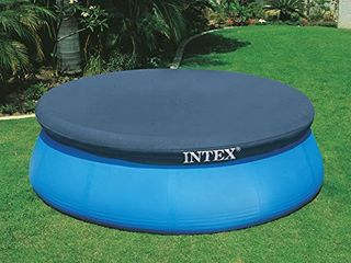 Intex 10 Foot Round Easy Set Pool Cover