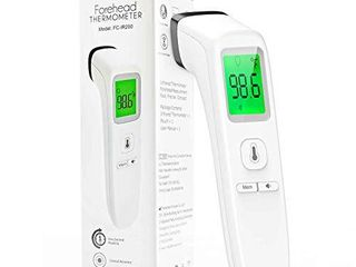 Forehead Thermometer Non Contact Infrared Thermometer for Baby Kids and Adults Accurate Instant Readings Forehead Thermometer with lCD Display