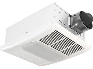 Delta BreezRadiance RAD80l 80 CFM Exhaust Fan with light and Heater By Delta Products Corporation
