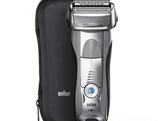 Braun Electric Razor for Men  Series 7 7893s Electric Shaver With Precision Trimmer  Rechargeable  Wet   Dry   Travel Case