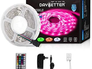 Daybetter led Strip lights 16 4ft with Remote Controller and Power Supply