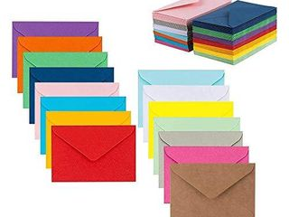 Colorful Envelopes 5  x 7  Assorted Colors 105 Pack Envelopes for Invitations  Birthday  Graduation  Baby Shower  Greeting Card