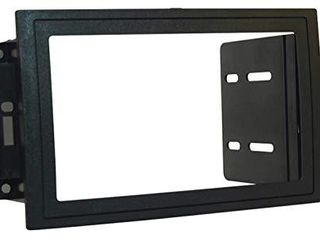 SCOSCHE CR1289B Double DIN Stereo Pocket Dash Kit for 2005 08 Chrysler Dodge Jeep