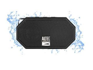 Altec lansing Mini H2O   Wireless  Bluetooth  Waterproof Speaker  Floating  IP67  Portable Speaker  Strong Bass  Rich Stereo System  Microphone  30 ft Range  lightweight  6 Hour Battery   Black