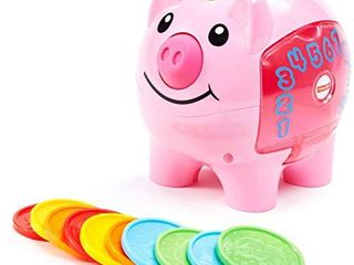 Fisher Price laugh   learn Smart Stages Piggy Bank Pink  Small