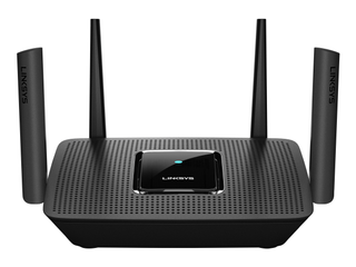 linksys   AC2200 Tri Band Mesh WiFi 5 Router   Black
