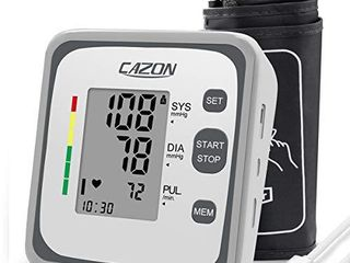 Blood Pressure Monitor Upper Arm Cuff for Home Use BP Machine Heart Rate Pulse Monitoring Device with Cuff 22 40cm  2 Users 240 Memory