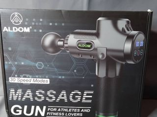 AlDOM 30 Speed Modes Massage Gun For Athletes And Fitness lovers
