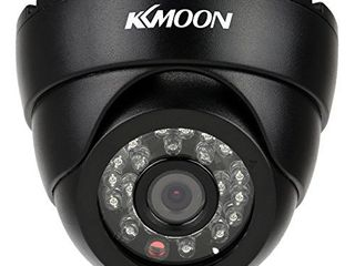 KKmoon Indoor Camera Security Camera 2 8mm 720P Security Surveillance CCTV Indoor Camera Analog Camera24pcs IR IR lEDs for Night View Super Wide Angle NTSC System Home Security System