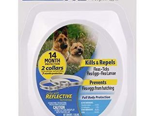 Hartz Ultraguard Pro 2 Pack Reflective Flea   Tick Collars for Dogs   Puppies