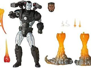 Hasbro Marvel legends Series 6 inch Collectible Action Figure Deluxe Marvel s War Machine Toy  Premium Design and 8 Accessories