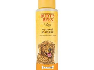 Burt s Bees Natural Shampoo for Dogs  Made with Colloidal Oat Flour and Honey  16 Oz