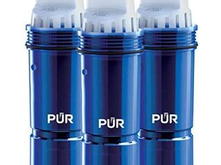 PUR Water Pitcher Replacement Filter with lead Reduction  3 Pack  Blue