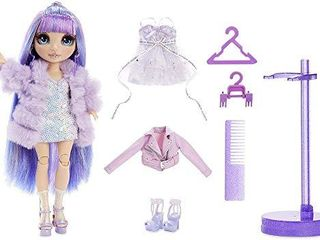 Rainbow High Violet Willow   Purple Clothes Fashion Doll with 2 Complete Mix   Match Outfits and Accessories  Toys for Kids 6 to 12 Years Old