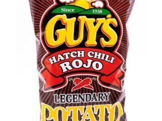 lot of 4 Guys Chips Hatch Chili Rojo 8oz Bag Exp 1 16 21