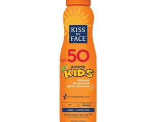Kiss My Face Kids Defense Broad Spectrum SPF 50   AEROSOl  SPRAY
