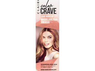 Clairol Color Crave Hair Makeup Rose Gold   1 5 fl oz