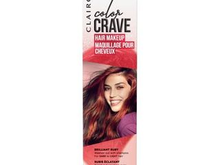 Clairol Color Crave Hair Makeup Ruby   1 5 fl oz
