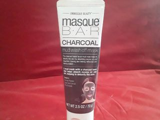 Masque Bar Charcoal Mud Wash Off Mask 2 5oz Detoxify Skin Sealed