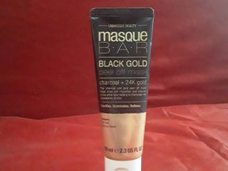 NEW Masque B A R  Black Gold Peel Off Mask CHARCOAl   24K GOlD   2 3 Fl Oz