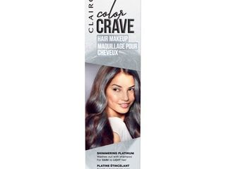 Clairol Color Crave Hair Makeup Platinum  White  1 52 fl oz