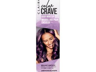 Clairol Color Crave Hair Makeup Amethyst   1 5 fl oz