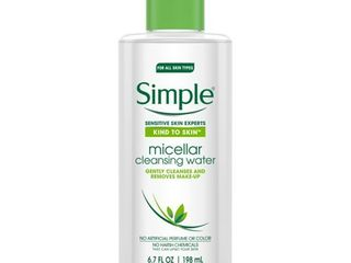 Simple Micellar Water Facial Cleanser 6 7oz