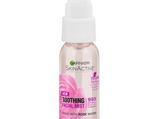 Garnier SkinActive Facial Mist Spray with Rose Water  1 fl  oz