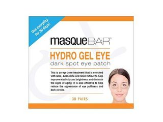 Masque Bar Hydro Gel Dark Spot Eye Patch  Helps Brighten Dark Spots  Hydrating and Restores Elasticity