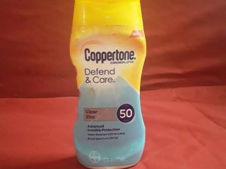 Coppertone Defend and Care spf 50