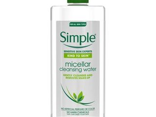 Simple Micellar Cleansing Water   13 5 fl oz