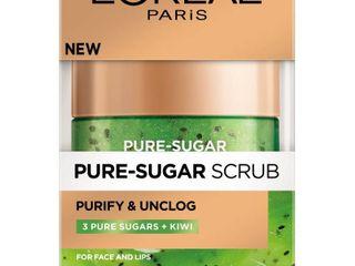 l Oreal Paris Pure Sugar Scrub Purify   Unclog  1 7 oz