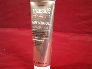 Masque Bar Rose Gold Foil Peel off Mask 2 37 Oz Each